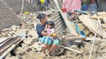 Las autoridades han reportado que a nivel nacional hay 5.858 casas inhabitables y otras 4.882 colapsaron. Hay más de 300.000 personas afectadas en todo el país (Foto: Johnny Aurazo/El Comercio).