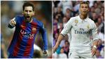 Un aficionado captó una imagen protagonizada por Lionel Messi y Cristiano Ronaldo se volvió viral en las redes sociales. (Foto: AFP)