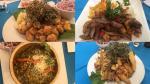 Cuatro propuestas del restaurante La Onceava. (Fotos: Ignacio Medina)