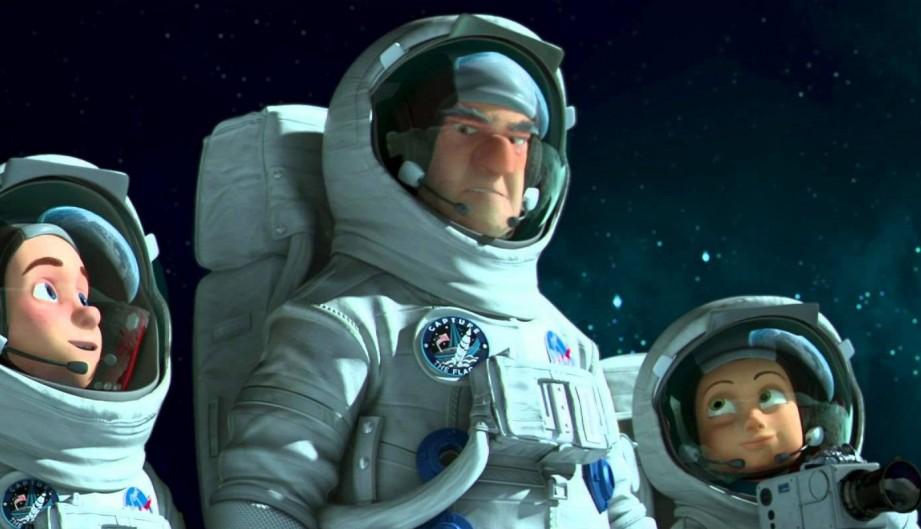 Una familia espacial
