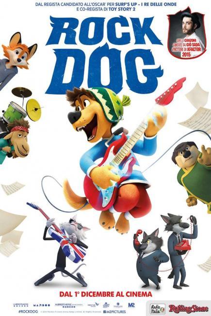 Resultado de imagen para Rock Dog El Perro Rockero (2016)