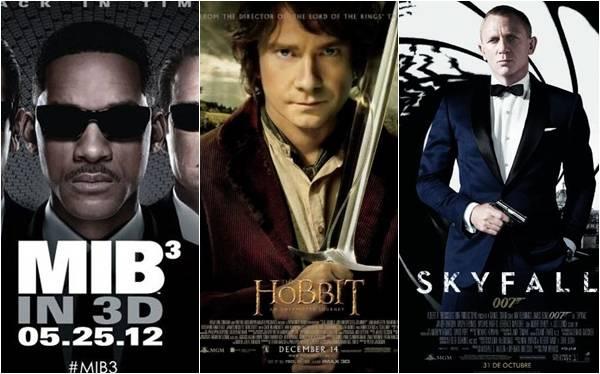"""""""Hombres de Negro 3"""" lidera la lista de películas con más errores del 2012"""