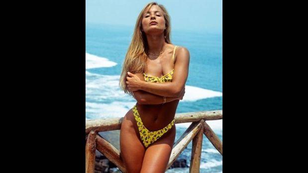 FOTOS: Olenka Zimmermann, una diosa que desborda sensualidad