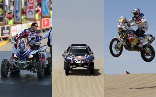 Resultados Dakar: conoce los puestos peruanos y el top 5 de la primera etapa