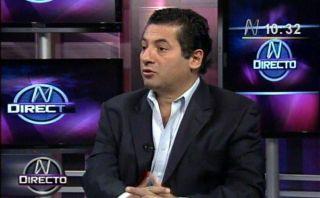Salvador Heresi decidirá el próximo año si postula a la alcaldía de Lima