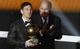 """Lionel Messi tras ganar el Balón de Oro: """"Esto es algo impresionante"""""""