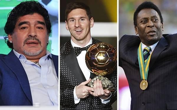 ¿Por qué Diego Maradona y Pelé nunca ganaron el Balón de Oro?