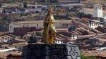 Cusco: Dirección de Cultura reitera que estatua de inca daña el patrimonio - Noticias de luis florez garcia