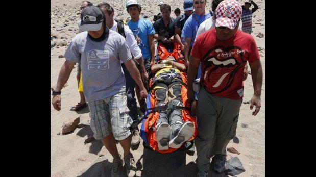 FOTOS: las caídas, volcadas y peligrosos accidentes registrados hasta el momento en el Dakar 2013