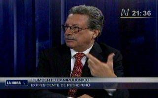 """Campodónico explicó salida de Petro-Perú: """"El gobierno tenía voluntad de un cambio"""""""