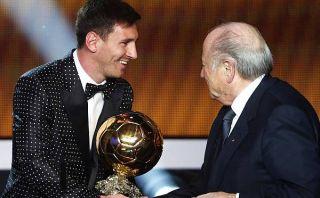 """Presidente de la FIFA: """"Lionel Messi es el mejor futbolista del mundo"""""""
