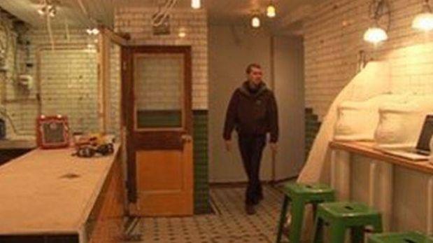 Baños Publicos Antiguos:Baño público, un dulce hogar en Londres