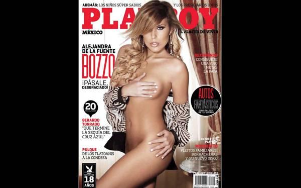 """Difunden fotografías de hija de Laura Bozzo en la revista """"Playboy"""""""