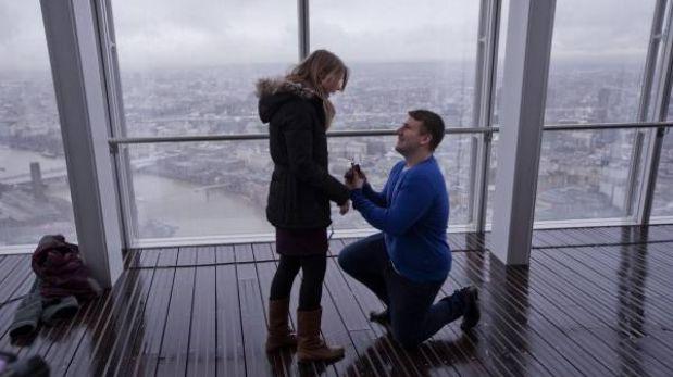 mirador del edificio ms alto de europa occidental abri sus puertas con pedido de matrimonio