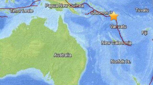 Tsunami golpea Islas Salomón y destruye tres aldeas tras terremoto