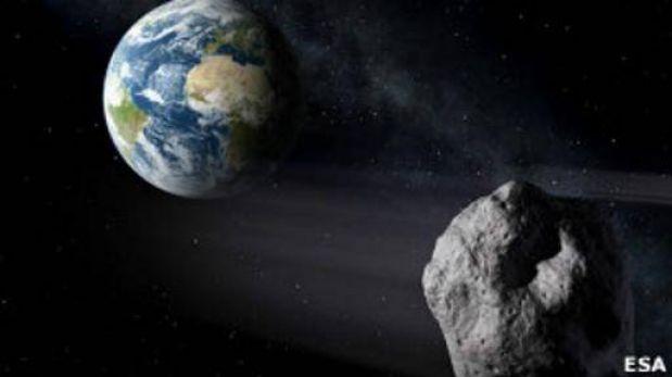 Rezar, la recomendación de la NASA si un gran asteroide se dirige ...