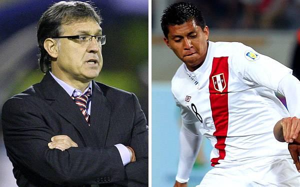 """Rinaldo Cruzado """"resuelve hoy"""" su fichaje por Newell's, dice Tata Martino"""