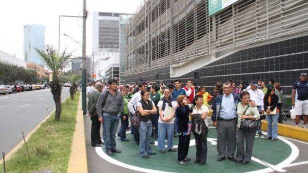 Primer simulacro nacional de sismo y tsunami del 2013 será el 30 de mayo