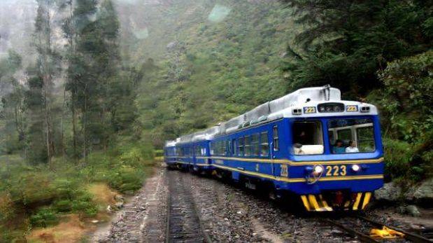 Servicio de trenes hacia Machu Picchu fue suspendido por seguridad
