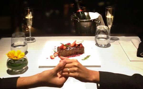 Opciones para disfrutar de una cena rom ntica por san - Detalles para cena romantica ...