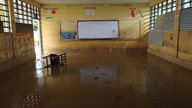 Gobiernos regionales evaluarán si se postergan clases por lluvias