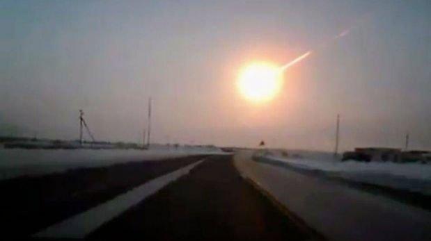 FOTOS: la impresionante caída del meteorito en Rusia y la destrucción que generó su impacto