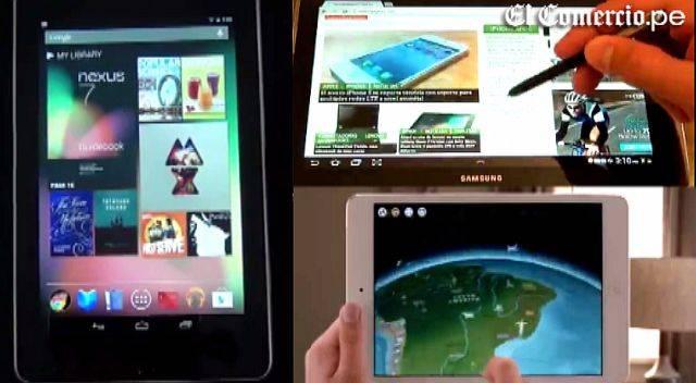 """Precios y características de las tabletas de 7"""" que se venden en el Perú"""