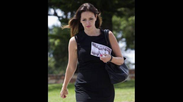 la emotiva despedida de la novia de Oscar Pistorius que fue cremada en