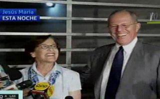 PPK visitó a Susana Villarán para apoyarla en proceso de revocación