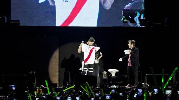 FOTOS: Kim Hyun Joong conquistó a miles de fanáticas peruanas del K-Pop