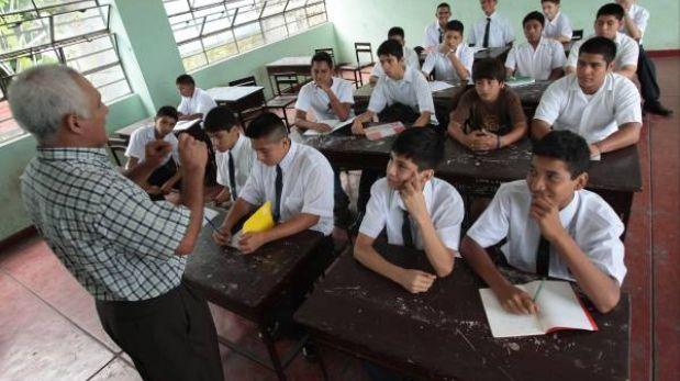 Clases escolares empiezan el 4 de marzo en el país, menos en Cusco