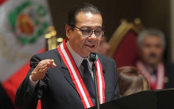 Presidente del Poder Judicial planteó la sumatoria de penas para hampones