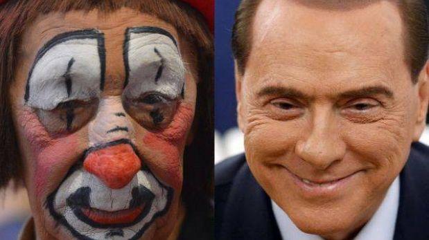Los payasos en Italia piden que no se les compare con Silvio Berlusconi