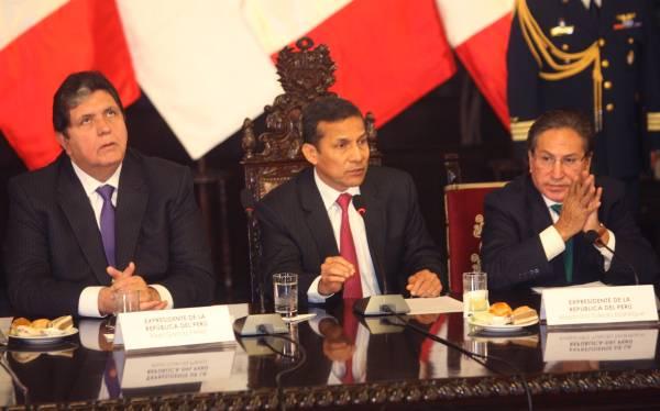 Retorno a bicameralidad: Humala, Toledo y García darán opiniones en el Congreso