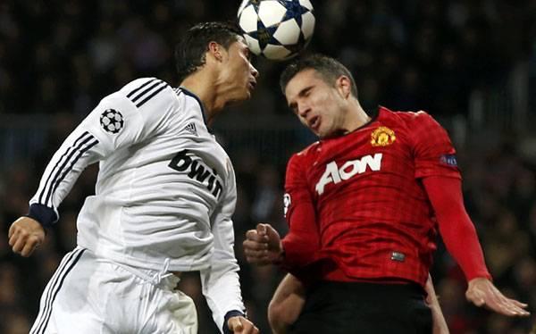 Champions League: Real Madrid y Manchester United por la clasificación (2:45 p.m.)