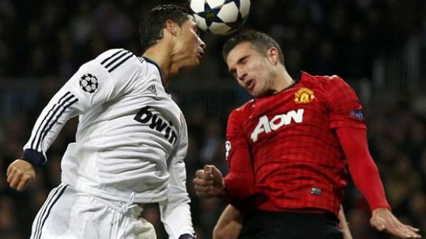 Champions League: Real Madrid y Manchester United por la clasificación (2:45 p.m.)