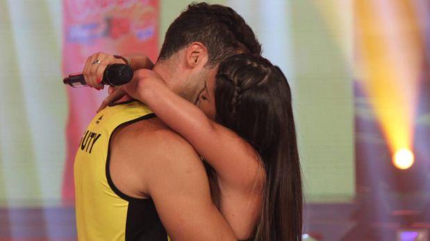 """FOTOS: Melissa Loza y Guty Carrera oficializan su relación en """"Esto es guerra"""""""