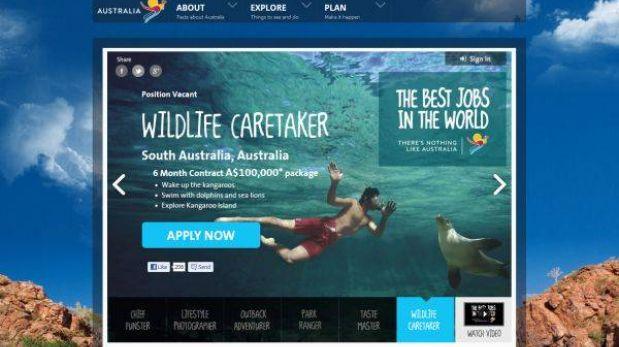"""Australia ofrece """"los mejores empleos del mundo"""" a jóvenes turistas"""