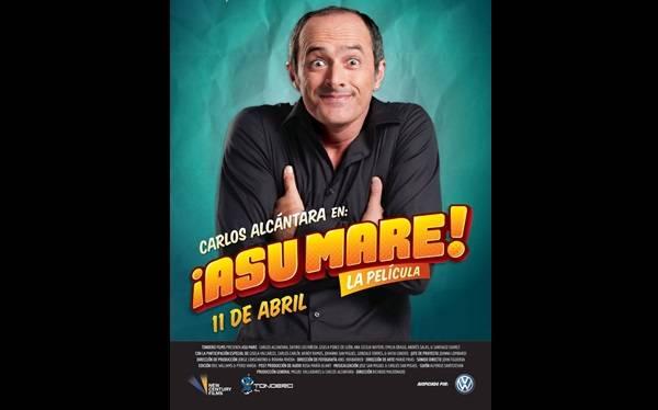 """Carlos Alcántara y """"Asu Mare"""": este es el afiche de la película"""