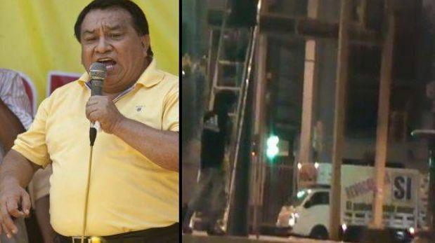Vehículo de empresa de José Luna se usó para retirar carteles del No