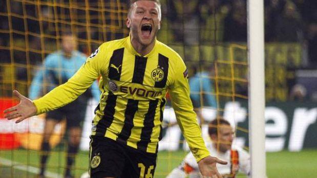 Borussia Dortmund pasó a cuartos con goleada 3-0 al Shakhtar Donetsk