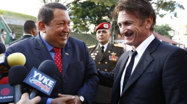 Los famosos que se acercaron a Hugo Chávez