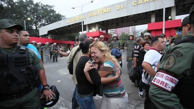 Fuerzas armadas de Venezuela salen a las calles tras muerte de Hugo Chávez