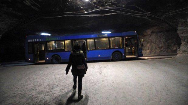 FOTOS: la mina de sal de Praid y la diversión a 160 metros bajo tierra