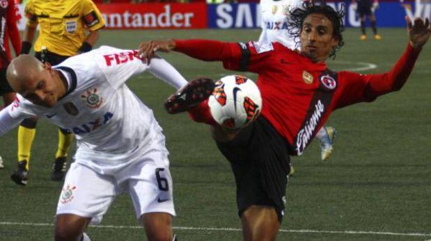 Corinthians con Paolo Guerrero cayó 1-0 ante Tijuana en Copa Libertadores