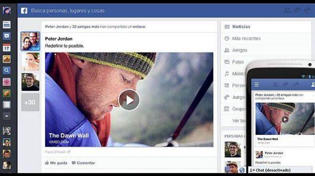 """Facebook cambia otra vez: este es el nuevo diseño de su """"news feed"""""""