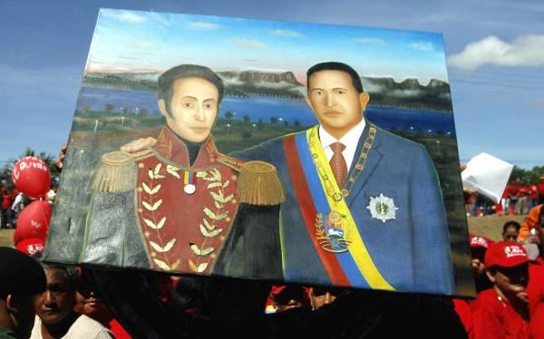 """Hugo Chávez, ¿fue la """"reencarnación"""" de Simón Bolívar?"""