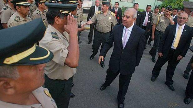 El ministro del Interior evalúa a 47 generales para elegir al director de PNP