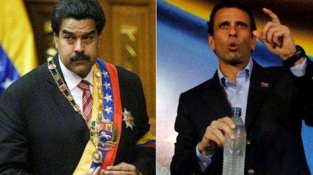 Elecciones en Venezuela: Maduro le lleva 14,4% a Capriles en encuesta