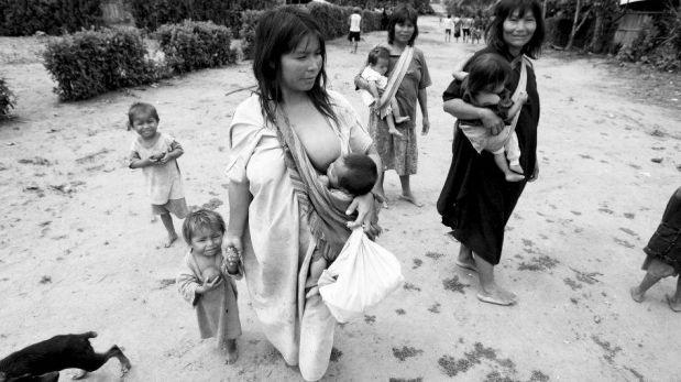 FOTOS: la desnutrición crónica amenaza a los asháninkas en el Vraem